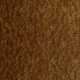 10' Wide x 4' Long Beehive Pattern Muted Gold Finish Thermoplastic Flexlam Wall Panel