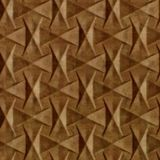 10' Wide x 4' Long Bowtie Pattern Muted Gold Finish Thermoplastic Flexlam Wall Panel