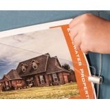 "11"" Wide x 17"" High Non-Illuminated 2 Graphic Sign Kit - Landscape"