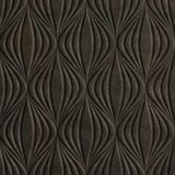10' Wide x 4' Long Shallot Pattern Smoked Pewter Finish Thermoplastic Flexlam Wall Panel