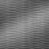 FlexLam 3D Wall Panel | 4ft W x 10ft H | Mojave Pattern | Brushed Stainless Finish