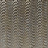 FlexLam 3D Wall Panel | 4ft W x 10ft H | Curves Pattern | Vintage Metal Finish