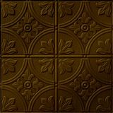 10' Wide x 4' Long Boston Pattern Oil Rubbed Bronze Finish Thermoplastic Flexlam Wall Panel