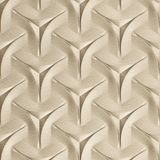 10' Wide x 4' Long Japanease Weave Pattern Almond Finish Thermoplastic Flexlam Wall Panel