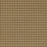 10' Wide x 4' Long Chocolate Square Pattern Linen Beige Finish Thermoplastic Flexlam Wall Panel