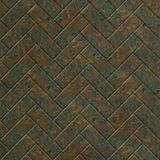 FlexLam 3D Wall Panel | 4ft W x 10ft H | Herringbone Pattern | Copper Fantasy Finish