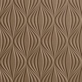 10' Wide x 4' Long Shallot Pattern Argent Bronze Finish Thermoplastic Flexlam Wall Panel