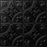 FlexLam 3D Wall Panel | 4ft W x 10ft H | Boston Pattern | Eccoflex Black Finish