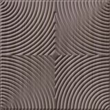 10' Wide x 4' Long Curvation Pattern Bronze Strata Finish Thermoplastic Flexlam Wall Panel