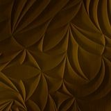 FlexLam 3D Wall Panel | 4ft W x 10ft H | Sculpted Petals Pattern | Oil Rubbed Bronze Finish