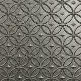 10' Wide x 4' Long Celestial Pattern Galvanized Finish Thermoplastic FlexLam Wall Panel