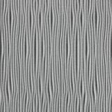 10' Wide x 4' Long Gobi Pattern Argent Silver Vertical Finish Thermoplastic Flexlam Wall Panel