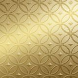 FlexLam 3D Wall Panel | 4ft W x 10ft H | Celestial Pattern | Mirror Gold Finish