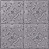 10' Wide x 4' Long Boston Pattern Lavender Finish Thermoplastic Flexlam Wall Panel