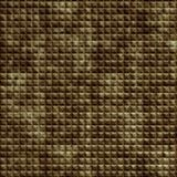 10' Wide x 4' Long Chocolate Square Pattern Bermuda Bronze Finish Thermoplastic Flexlam Wall Panel
