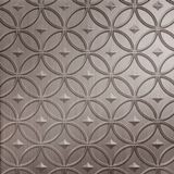 FlexLam 3D Wall Panel | 4ft W x 10ft H | Celestial Pattern | Brushed Nickel Finish