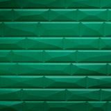 10' Wide x 4' Long Vista Pattern Mirror Green Finish Thermoplastic FlexLam Wall Panel