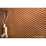 10' Wide x 4' Long Weave Pattern Moonstone Copper Finish Thermoplastic Flexlam Wall Panel