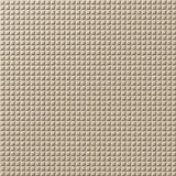 10' Wide x 4' Long Square 5 Pattern Eccoflex Tan Finish Thermoplastic FlexLam Wall Panel