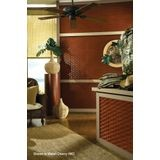 FlexLam 3D Wall Panel | 4ft W x 10ft H | Weave Pattern | Bermuda Bronze Finish
