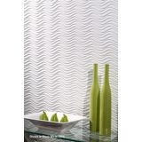 10' Wide x 4' Long Wavation Pattern Mirror Finish Thermoplastic Flexlam Wall Panel