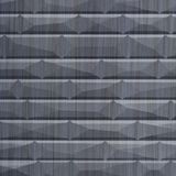 FlexLam 3D Wall Panel | 4ft W x 10ft H | Vista Pattern | Steel Strata Finish