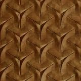 10' Wide x 4' Long Japanease Weave Pattern Muted Gold Finish Thermoplastic FlexLam Wall Panel