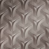 FlexLam 3D Wall Panel | 4ft W x 10ft H | Japanease Weave Pattern | Brushed Nickel Finish