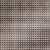 10' Wide x 4' Long Chocolate Square Pattern Brushed Nickel Finish Thermoplastic Flexlam Wall Panel