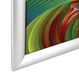 "Aluminum Snap Frame 1"" Profile 8 1/2"" X 11"" Clear Anodized"