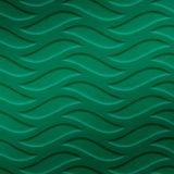 FlexLam 3D Wall Panel | 4ft W x 10ft H | Inferno Pattern | Mirror Green Finish