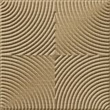 FlexLam 3D Wall Panel | 4ft W x 10ft H | Curvation Pattern | Linen Beige Finish