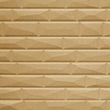 10' Wide x 4' Long Vista Pattern Argent Gold Finish Thermoplastic FlexLam Wall Panel