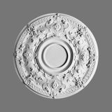 Orac Decor | High Density Polyurethane Ceiling Medallion | Primed White | 28in Dia