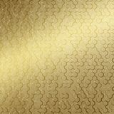 10' Wide x 4' Long Beehive Pattern Mirror Gold Finish Thermoplastic Flexlam Wall Panel