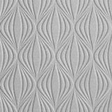 10' Wide x 4' Long Shallot Pattern Argent Silver Finish Thermoplastic Flexlam Wall Panel