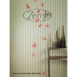 10' Wide x 4' Long Bamboo Pattern Galvanized Finish Thermoplastic Flexlam Wall Panel