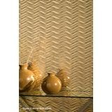10' Wide x 4' Long Wavation Pattern Almond Finish Thermoplastic Flexlam Wall Panel