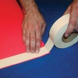 Banner Ups | 1in TigerTape | Double Sided Acrylic Based Adhesive for Banner Hemming | 108ft Roll