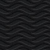 10' Wide x 4' Long Inferno Pattern Eccoflex Black Finish Thermoplastic FlexLam Wall Panel