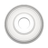 12-11/16in Dia | Primed White Polyurethane | Decorative Ceiling Medallion