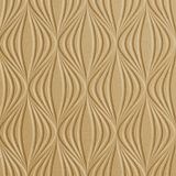 10' Wide x 4' Long Shallot Pattern Argent Gold Finish Thermoplastic Flexlam Wall Panel