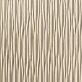 10' Wide x 4' Long Sahara Pattern Almond Finish Vertical Thermoplastic Flexlam Wall Panel