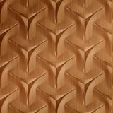 10' Wide x 4' Long Japanease Weave Pattern Brushed Copper Finish Thermoplastic Flexlam Wall Panel