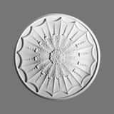 Orac Decor | High Density Polyurethane Ceiling Medallion | Primed White | 27in Dia