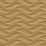 FlexLam 3D Wall Panel | 4ft W x 10ft H | Inferno Pattern | Argent Gold Finish