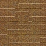 10' Wide x 4' Long Tetrus Pattern Cracked Copper Finish Thermoplastic Flexlam Wall Panel