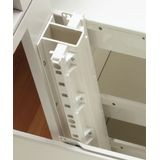 "1"" Wide White Quick Tray Support Set"