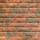10' Wide x 4' Long Vista Pattern Copper Fantasy Finish Thermoplastic FlexLam Wall Panel