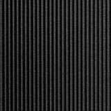 10' Wide x 4' Long Rib2 Pattern Eccoflex Black Finish Thermoplastic Flexlam Wall Panel